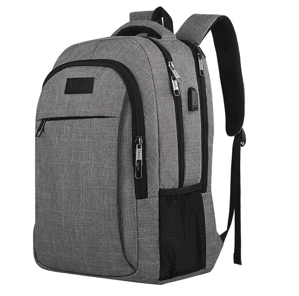 5. Travel laptop backpack,Business Anti Theft Slim Durable Laptops Backpack