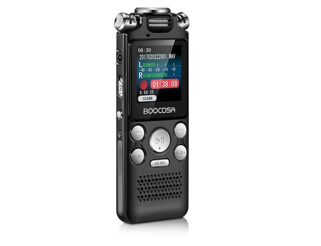 5. Voice Recorder, 8GB Audio Sound Recorder