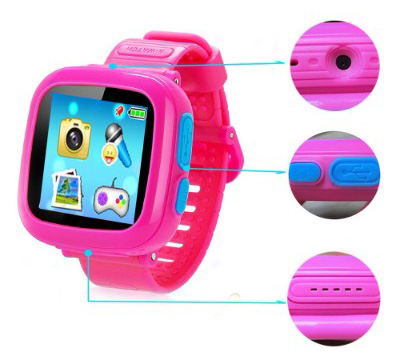 Game Smart Watch for Kids, Kids Smartwatch, Children's Camera 1.5 Touch Screen