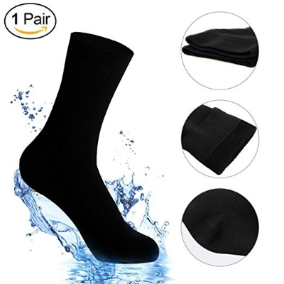 Waterproof Socks, Unisex Mid-Calf, and Ankle Waterproof & Highly Breathable