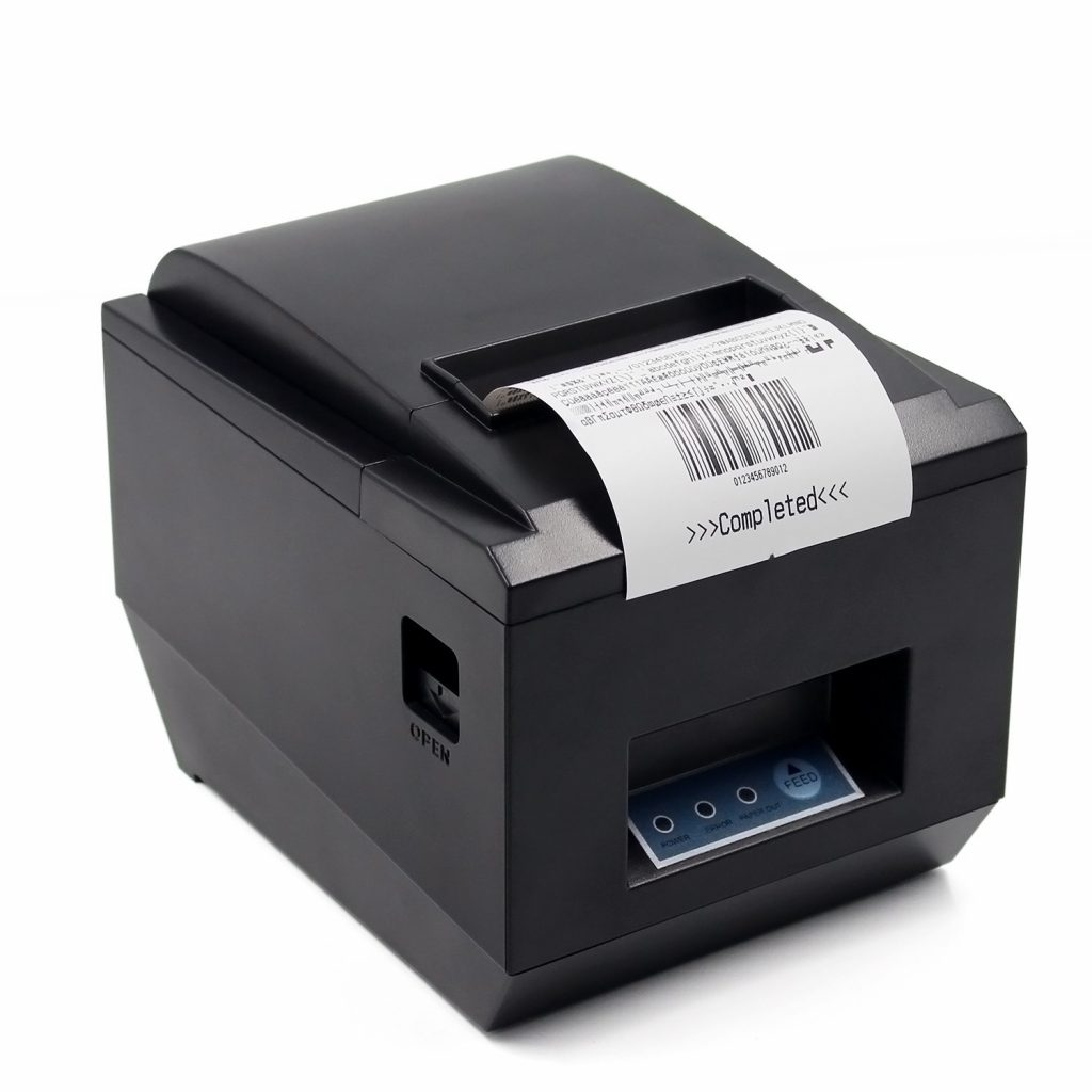 6. POS Thermal USB Square Receipt Printer Ethernet