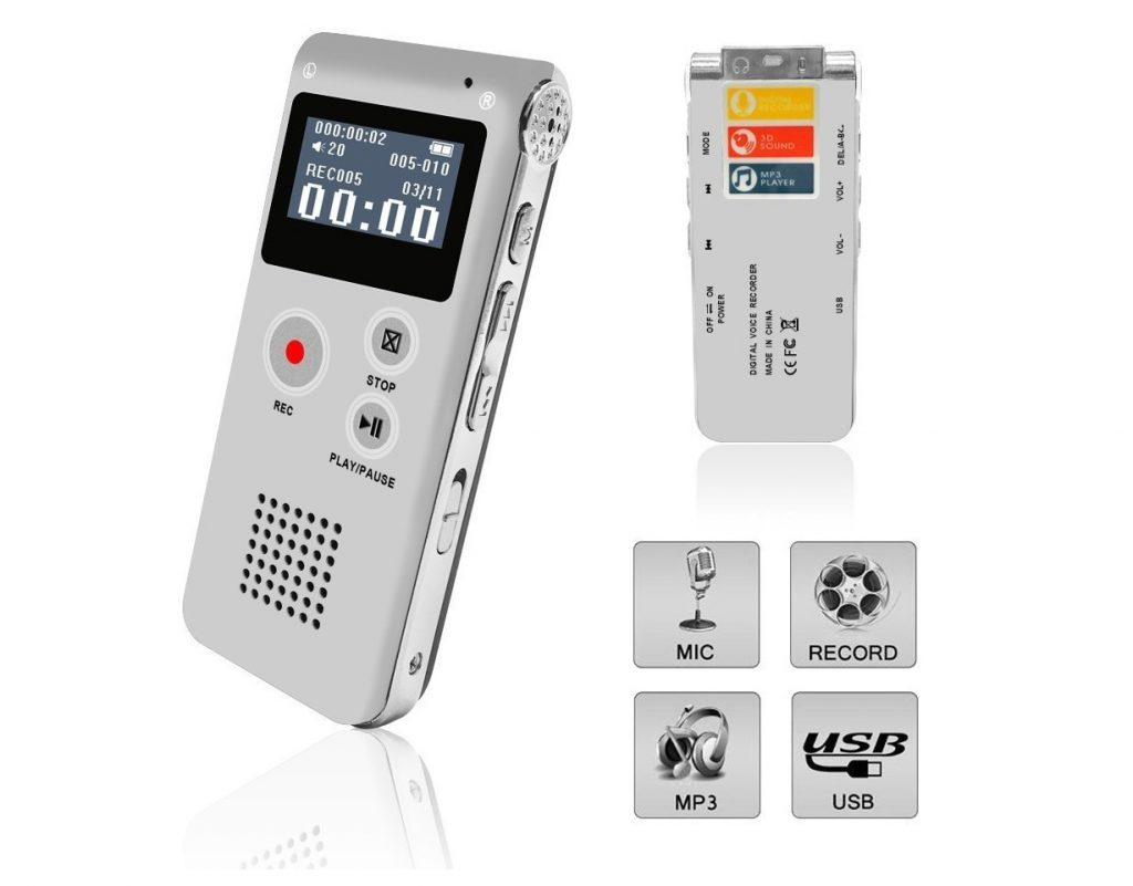6. Voice Recorder, Digital Voice Recorder