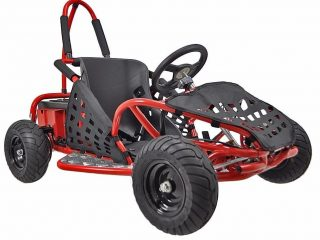6. XtremepowerUS Gas Off Road Go Kart 2.5HP 80cc 4 Stroke, EPA Approval, Red