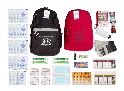 4 Person Premium Survival Kit with 72-Hours of Emergency Preparedness and First Aid