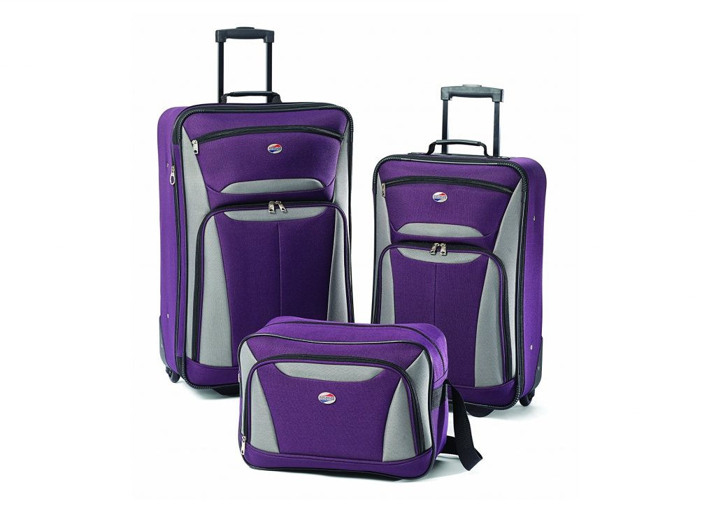 7. American Tourister Luggage Fieldbrook II 3 Piece Set