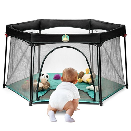 Infant Pack And Play Portable Playard Baby Playpen Suitable For Indoor Or Outdoor