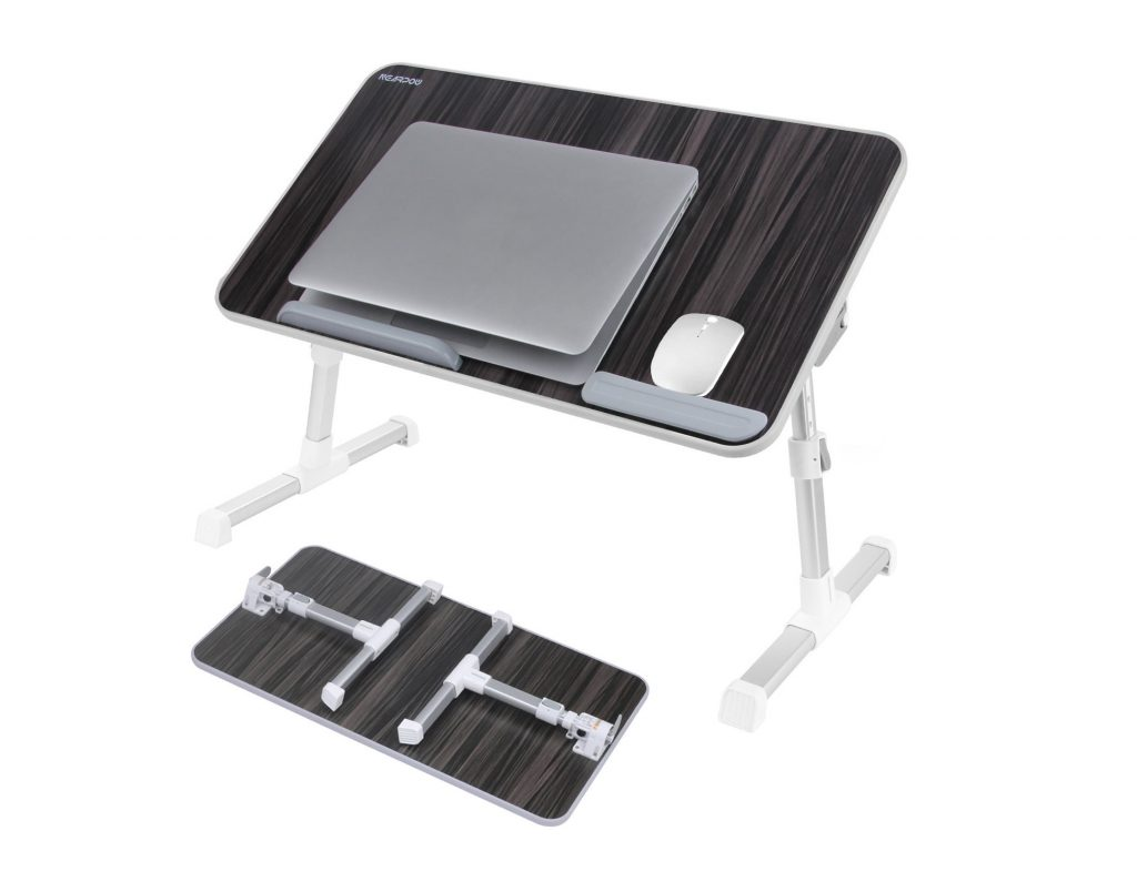 7. Laptop Bed Tray Table, Nearpow ( Larger Size ) Adjustable Laptop Bed Stand