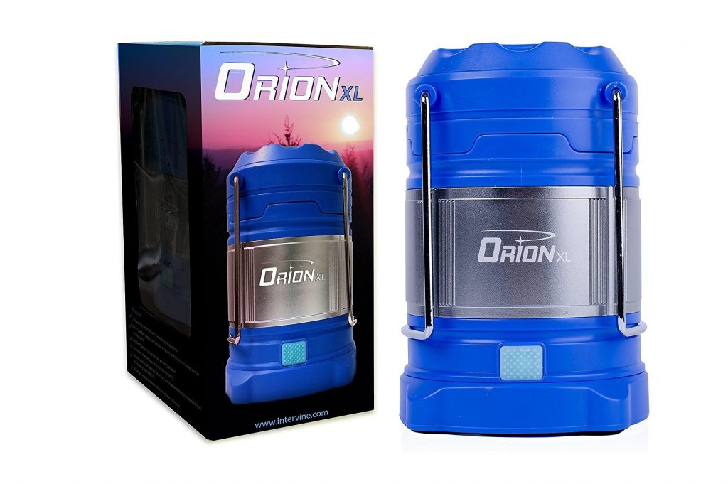 7. Supernova Orion Ultimate Survival Rechargeable LED Camping Lantern and Power Bank