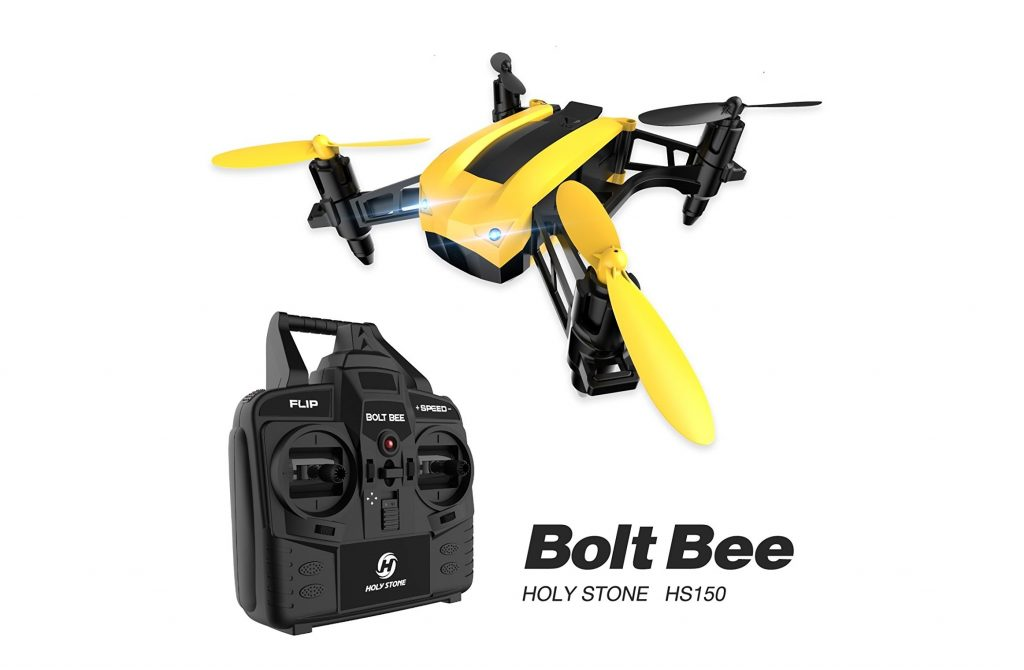 8. Holy Stone HS150 Bolt Bee Mini Racing Drone RC Quadcopter RTF