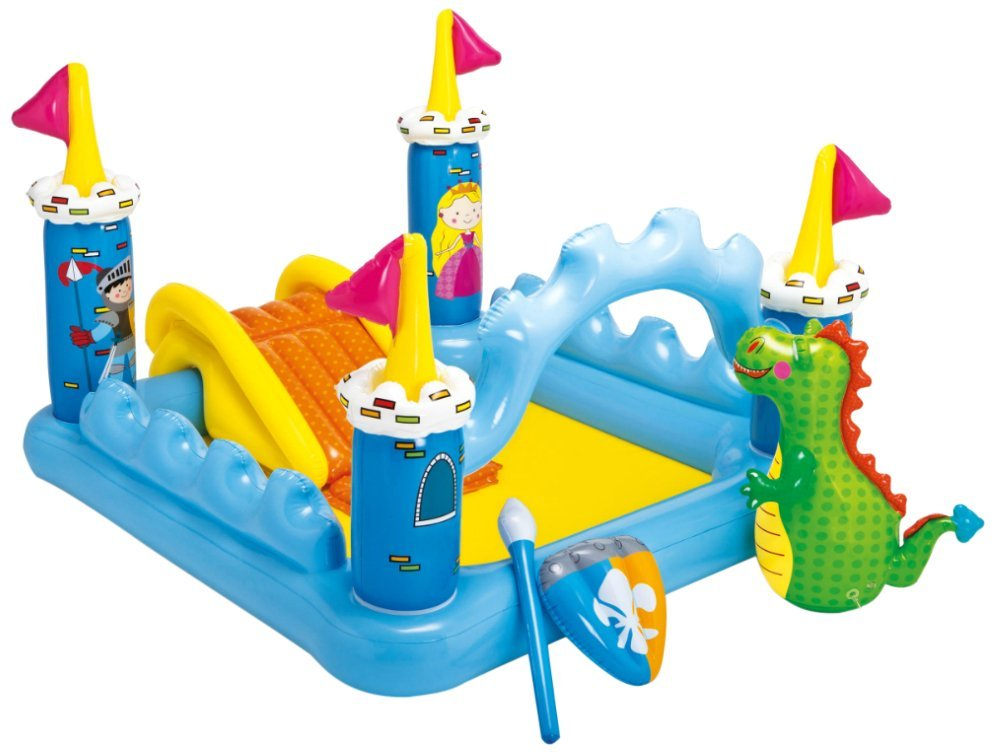 8. Intex Fantasy Castle Inflatable Play Center