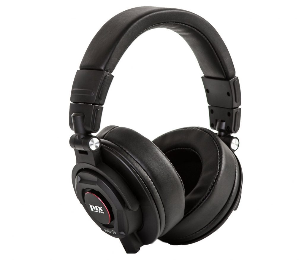 8. LyxPro HAS-30 Closed Back Over-Ear Professional Recording Headphones for Studio Monitoring, DJ and Home Entertainment