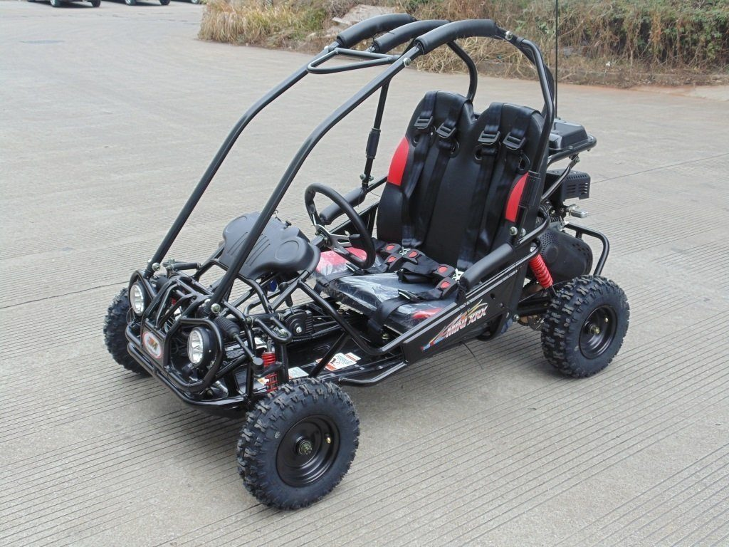 8. TRAILMASTER XRX-R MINI KIDS GO KART with REVERSE- BLACK