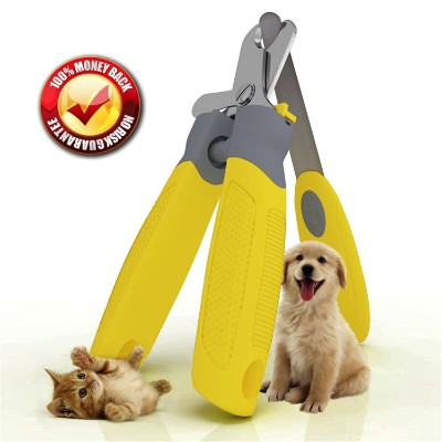 Trim-Pet Dog Nail Clippers ~ Professional Vet Quality ~ Razor Sharp Stainless Steel Blades
