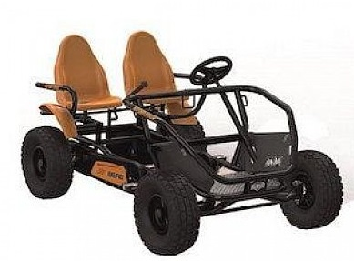 9. Berg 29.07.33.00 Go-Kart Gran Tour 2-Seater Off-Road44; Orange