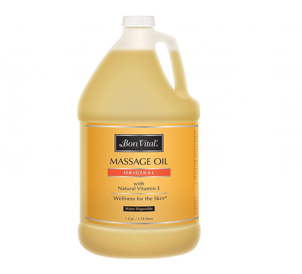 9. Bon Vital' Original Massage Oil for a Versatile Massage Foundation to Relax Sore Muscles and Repair Dry Skin