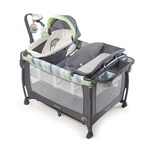 9. Ingenuity Smart and Simple Deluxe Playard
