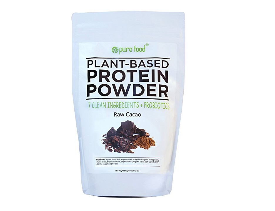 9. Pure Food The Healthiest Plant Based Protein Powder with Probiotics