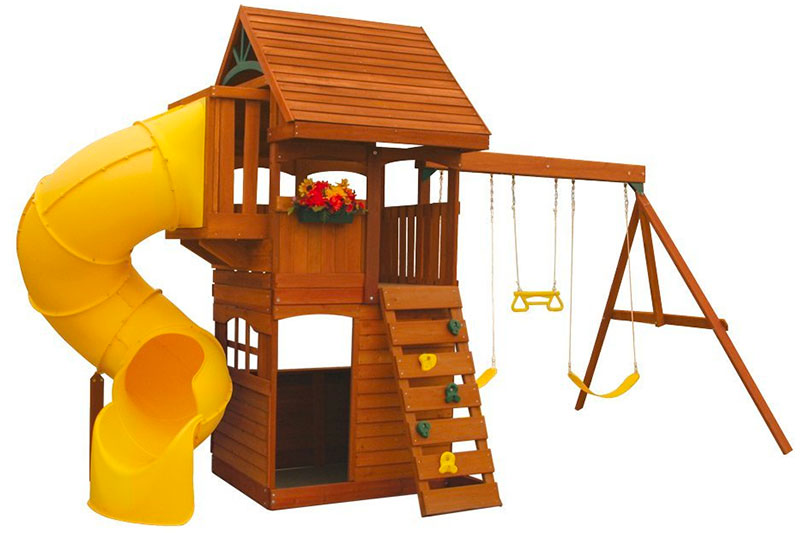 Cedar Summit F24730 Grandview Deluxe Play Set