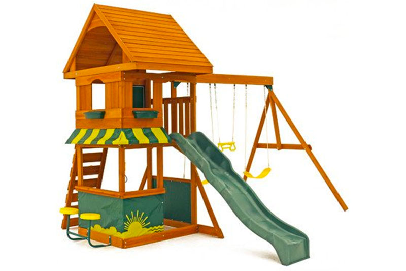 Big Backyard Magnolia Wooden Play Set