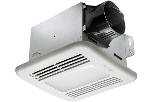 Exhaust Bath Fan/Dimmable LED Light