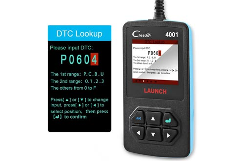 Launch FBA_Creader 4001 OBD2 Scanner Diagnostic Scan Tool