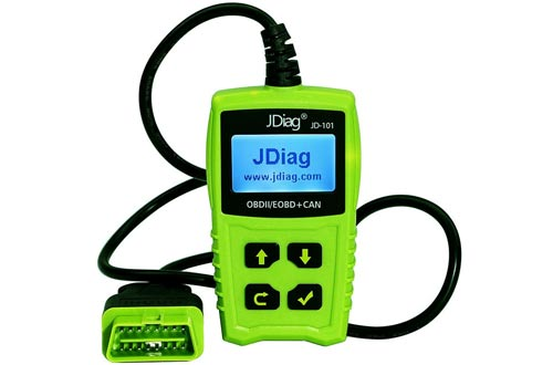 JDiag JD101 OBD2 Code Reader Car Scanner Diagnostic Tool Engine