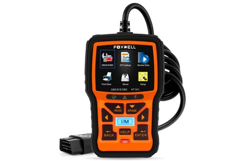 FOXWELL NT301 Car Obd2 Code Scanner Universal Check Engine