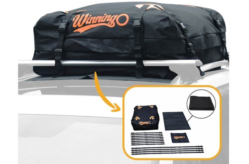 Winningo Waterproof Cargo Bag Easy to Install Soft Rooftop Luggage Carriers