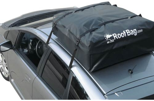 RoofBag Cross Country 100% Waterproof Soft Car Top Carrier
