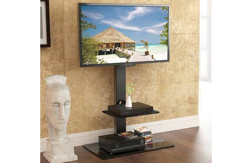 Fitueyes Swivel TV Stand with Mount