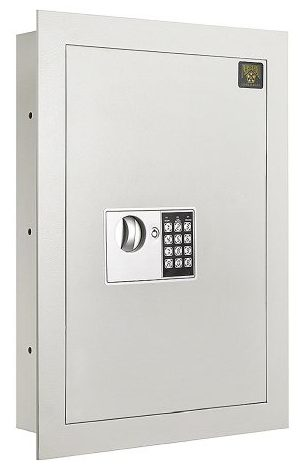 Flat Electronic Wall Hidden Safe .83 CF