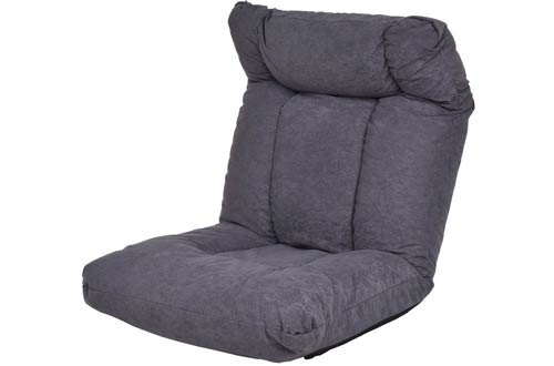 Giantex Cushioned Floor Gaming Sofa Chair