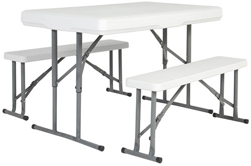 Outdoor Portable Folding Picnic Party Dining Table & Benches