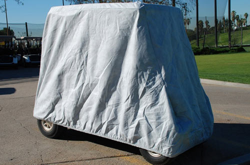 HD Waterproof Golf Cart Cover 4 Passenger 5 layer storage covers For Yamaha