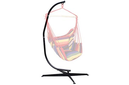 F2C Solid Steel Hammock Chair Stands