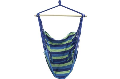 Sorbus Brazilian Hammock Chair Swing Seat for Any Indoor or Outdoor Spaces