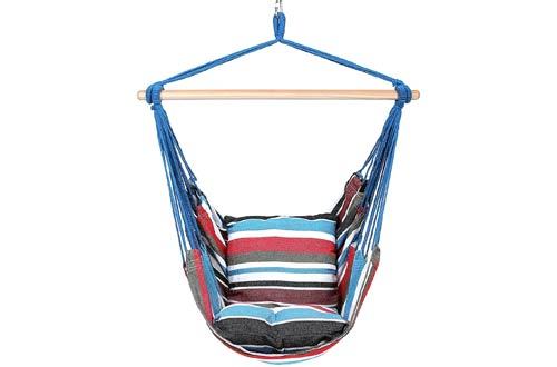 Blissun Hanging Hammock Chair, Swing Chair