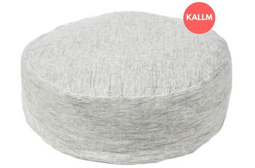 KALLM Zafu Pillow 100% Buckwheat Round Meditation Seat