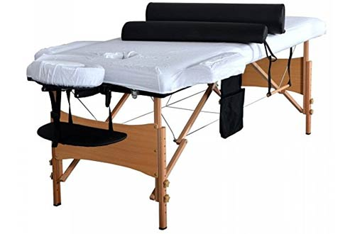 Massage Table Portable Facial SPA Bed W/Sheet+Cradle Cover