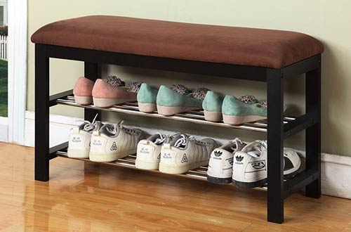 Micro Fabric Shoe Rack Storage Organizer