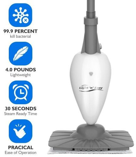 Steam Mop - Steam Cleaner Steam