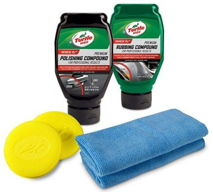Turtle Wax 50734 Complete 6-Piece