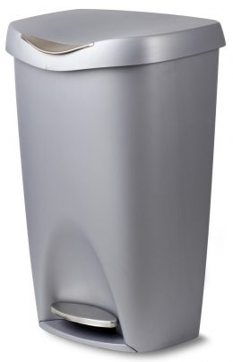Umbra-stainless-steel-trash-cans
