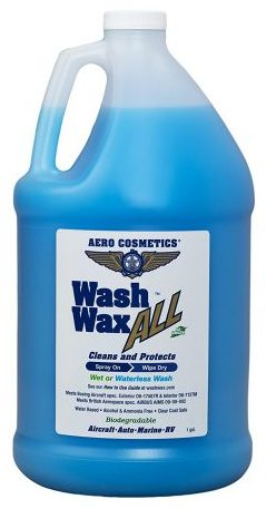 Wet or Waterless Car Wash Wax 128 oz
