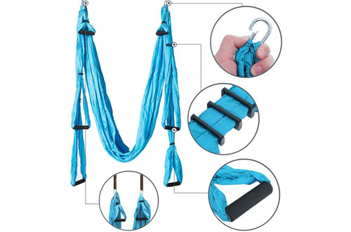 Aerial Yoga Swing Ultra Strong Antigravity Yoga Hammock for Air Yoga Inversion Exercises