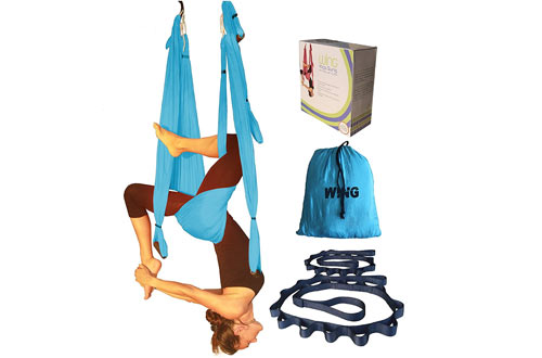 Yoga Swing Aerial Inversion Sling Trapeze Hammock For Excercises