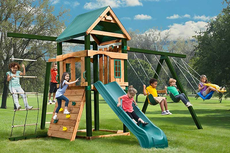 Top 10 Best Backyard Playset of 2018 Review