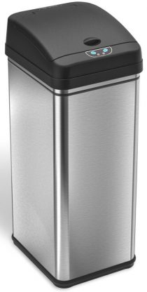 iTouchless-Stainless Steel Trash Cans
