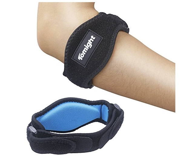 1. [2 Pack] Elbow Brace, Tomight Tennis Elbow Brace with Compression Pad for Both Men and Women