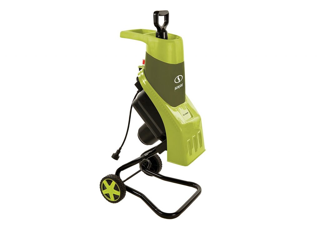 1. Sun Joe CJ602E 15-Amp Electric Wood Chipper